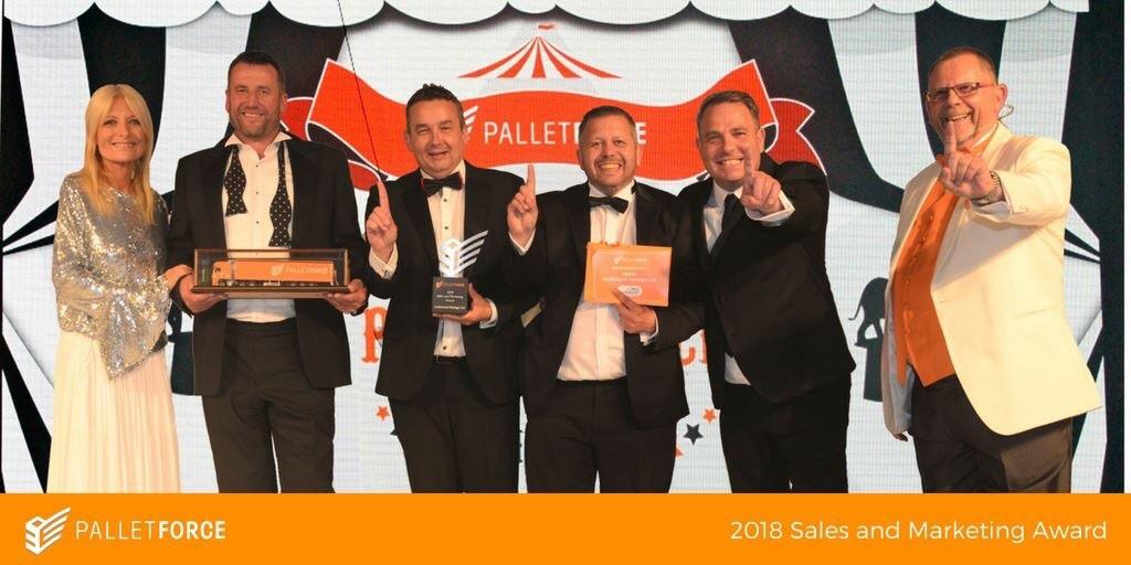 sales award 2018 gala