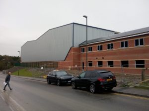 New warehouse two months off completion
